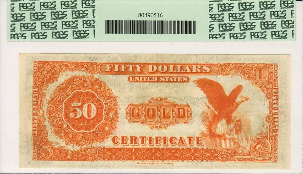 Reverse of $50 Fr-1197- My Scan