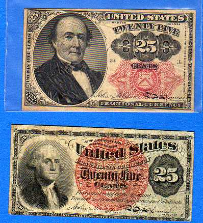 "two older notes ""Paper Quarters"""