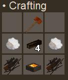 Scrap metal brazier craft