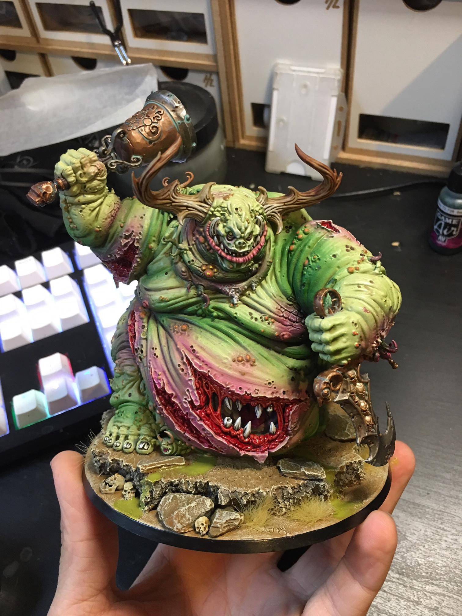 Finished the Great Unclean One