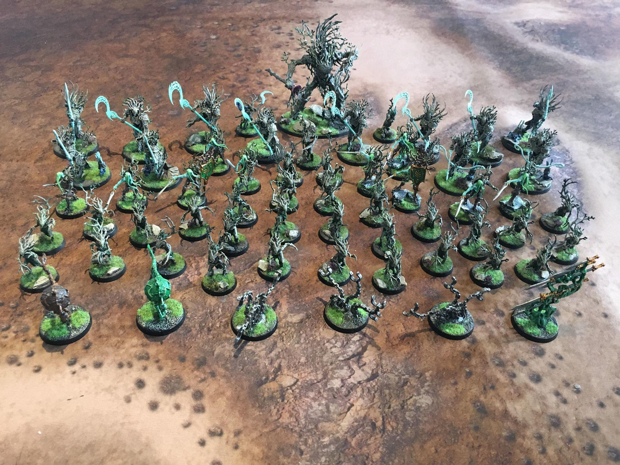 The Gnarlroot Wargrove marches to war!