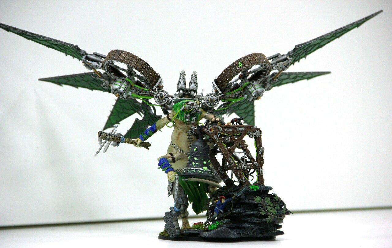 Skaven Warpfire Dragon