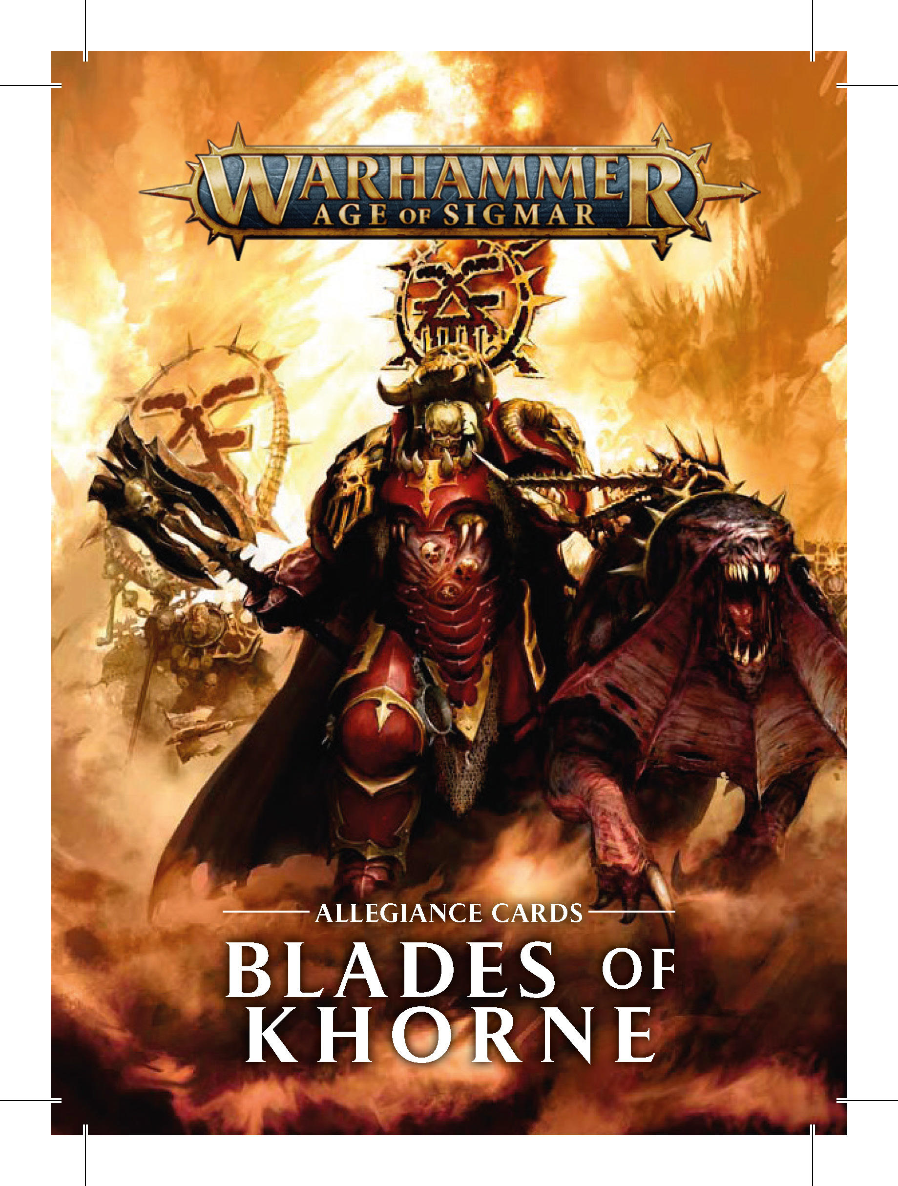 Blades of Khorne Update