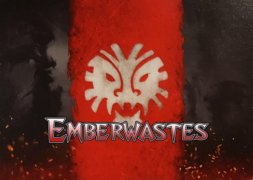 Warcy terrain - Emberwastes 2nd update