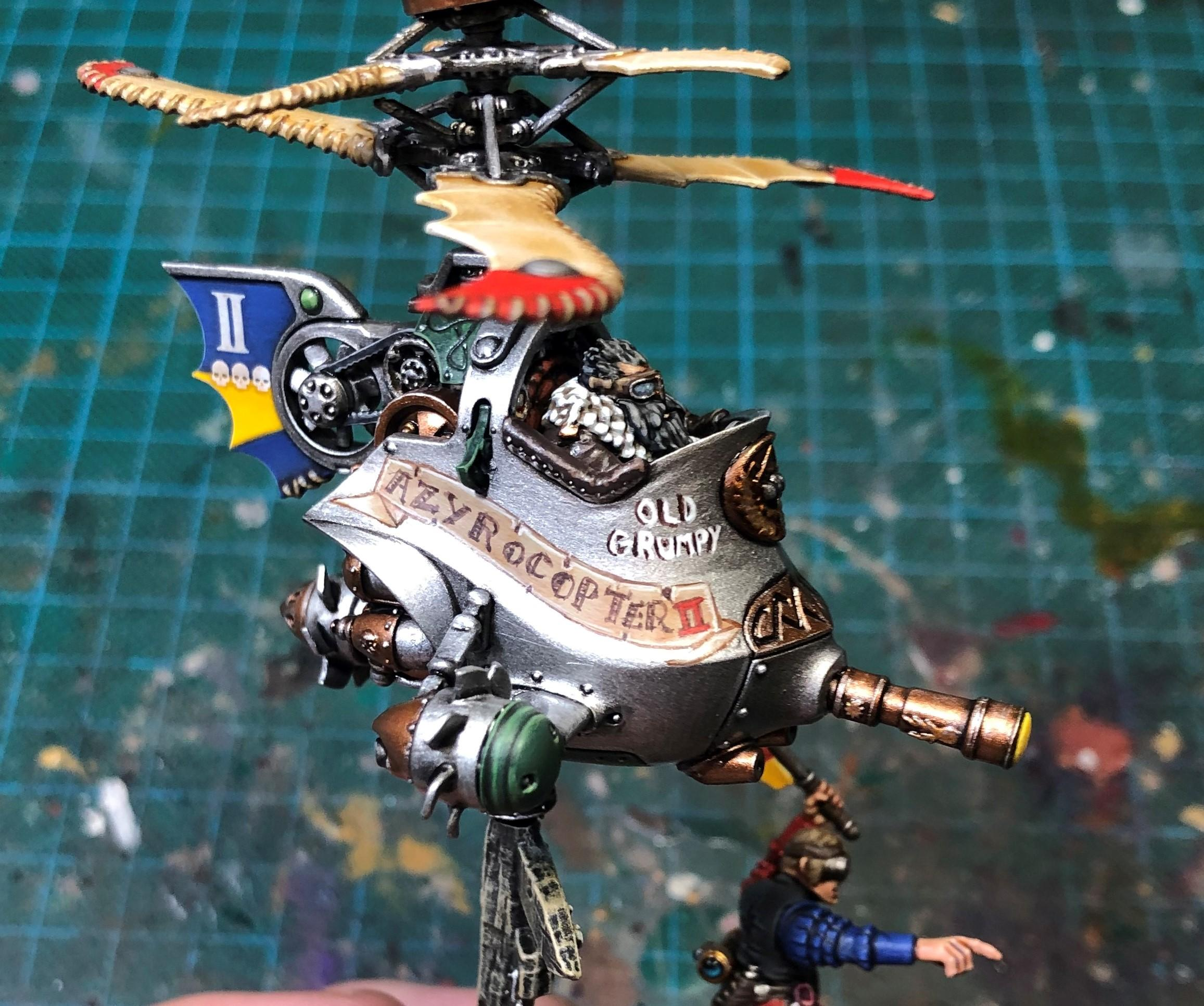 The Azyrocopter II - Knight-Azyros
