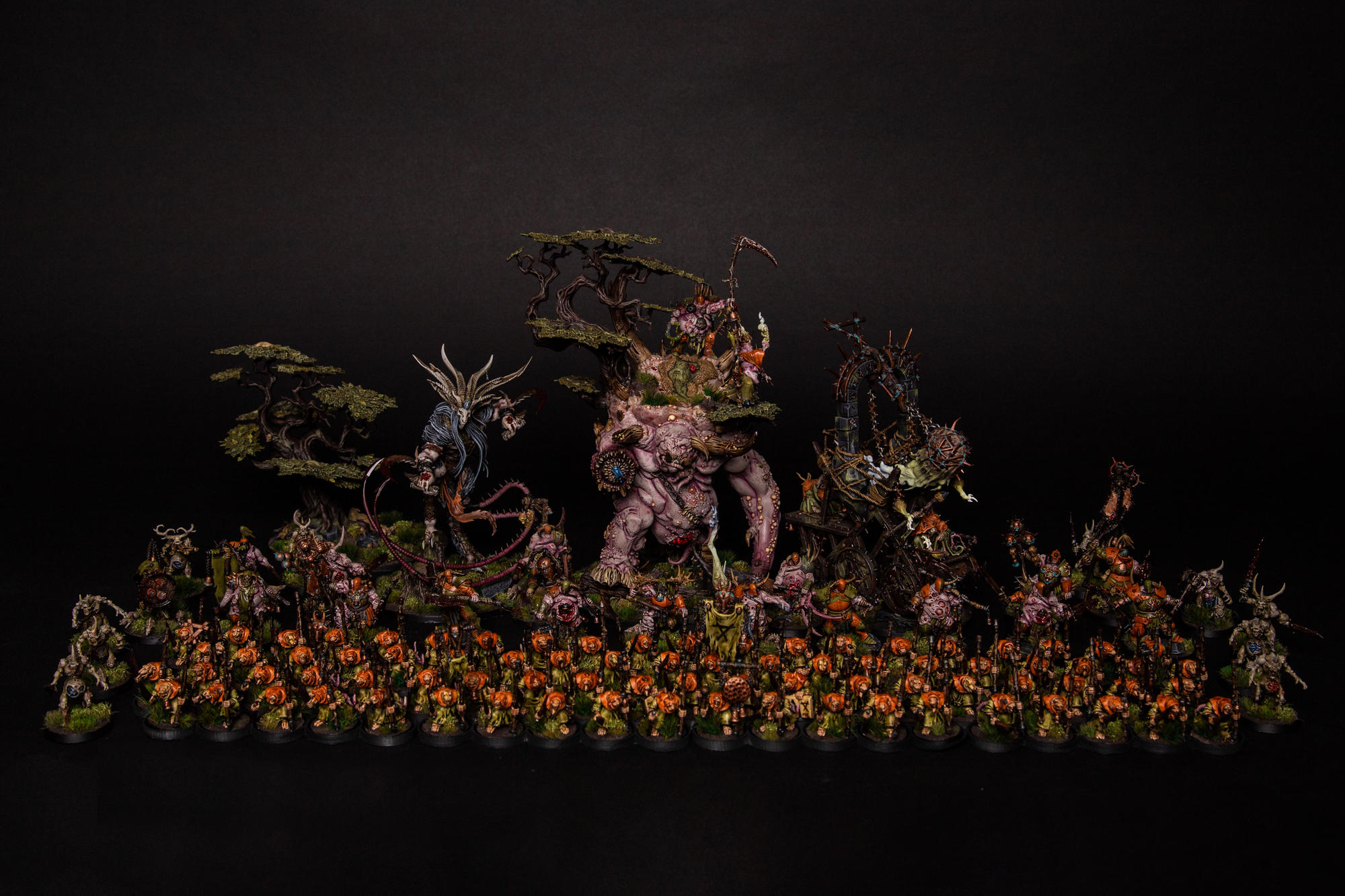 Glottkins hordes are ready. Pictures of the finished army!