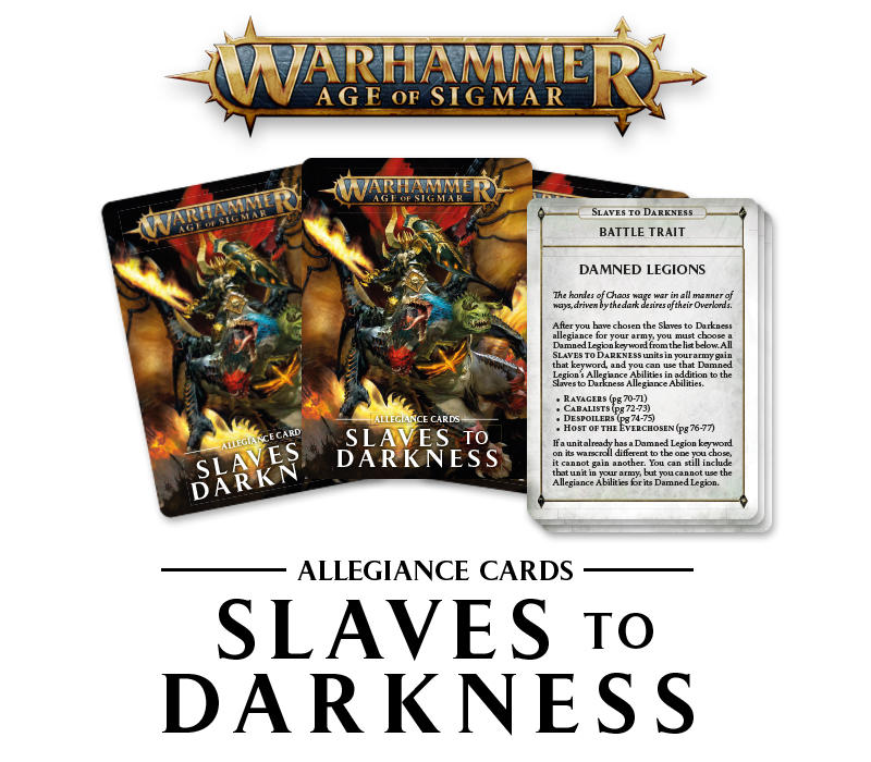 Slaves to Darkness Update