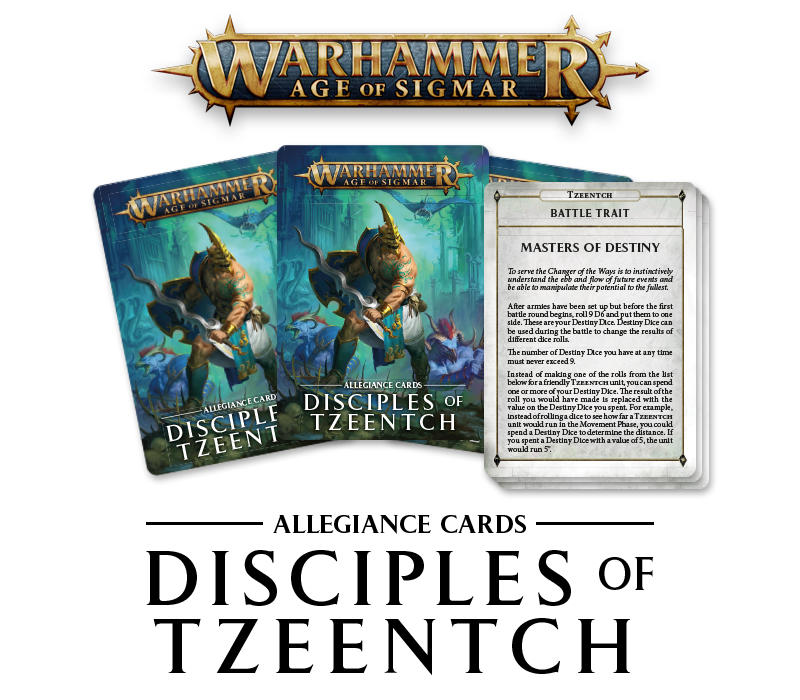 Disciples of Tzeentch Update