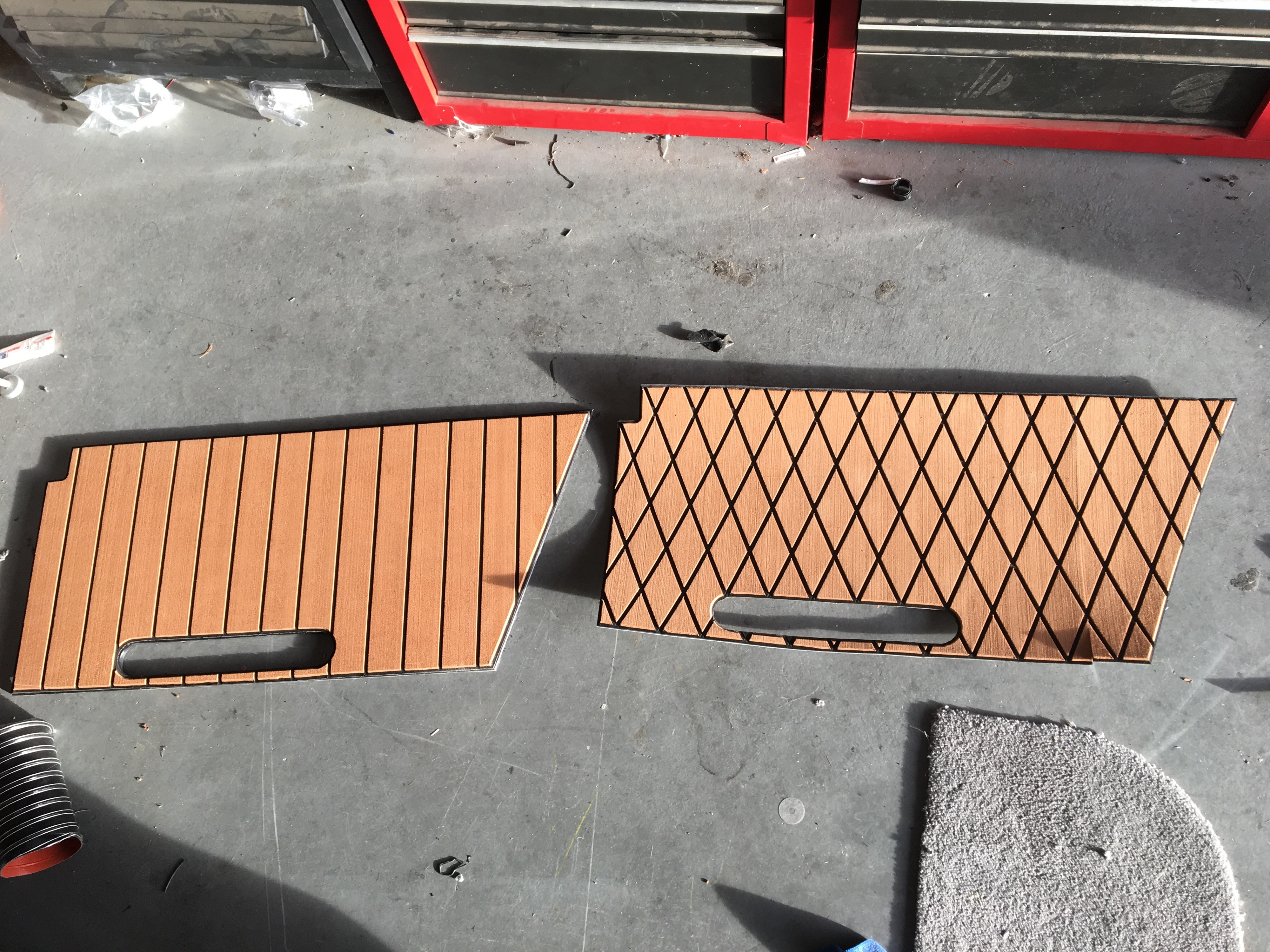 Gator Step Seadek Style Flooring On A Budget Flooring