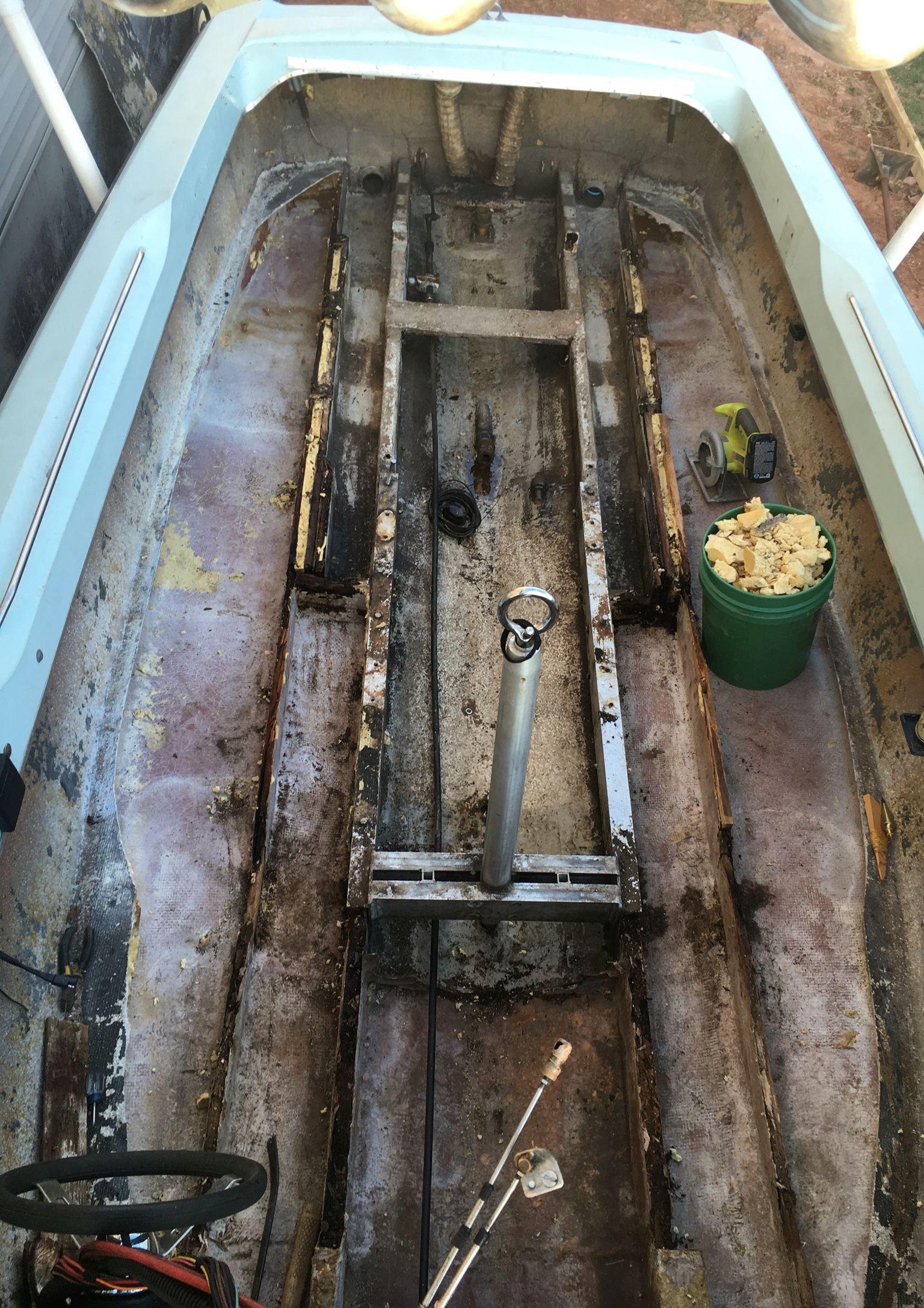 Stringer Floor For Ski Nautique 2001 Stringers Transom And Hull Repair Wake Garage