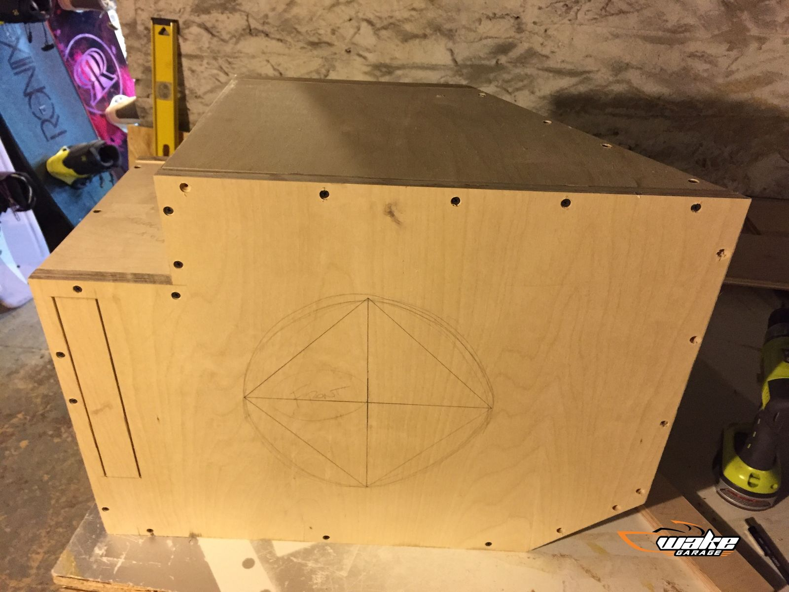 Custom Subwoofer Box Upgrade Project