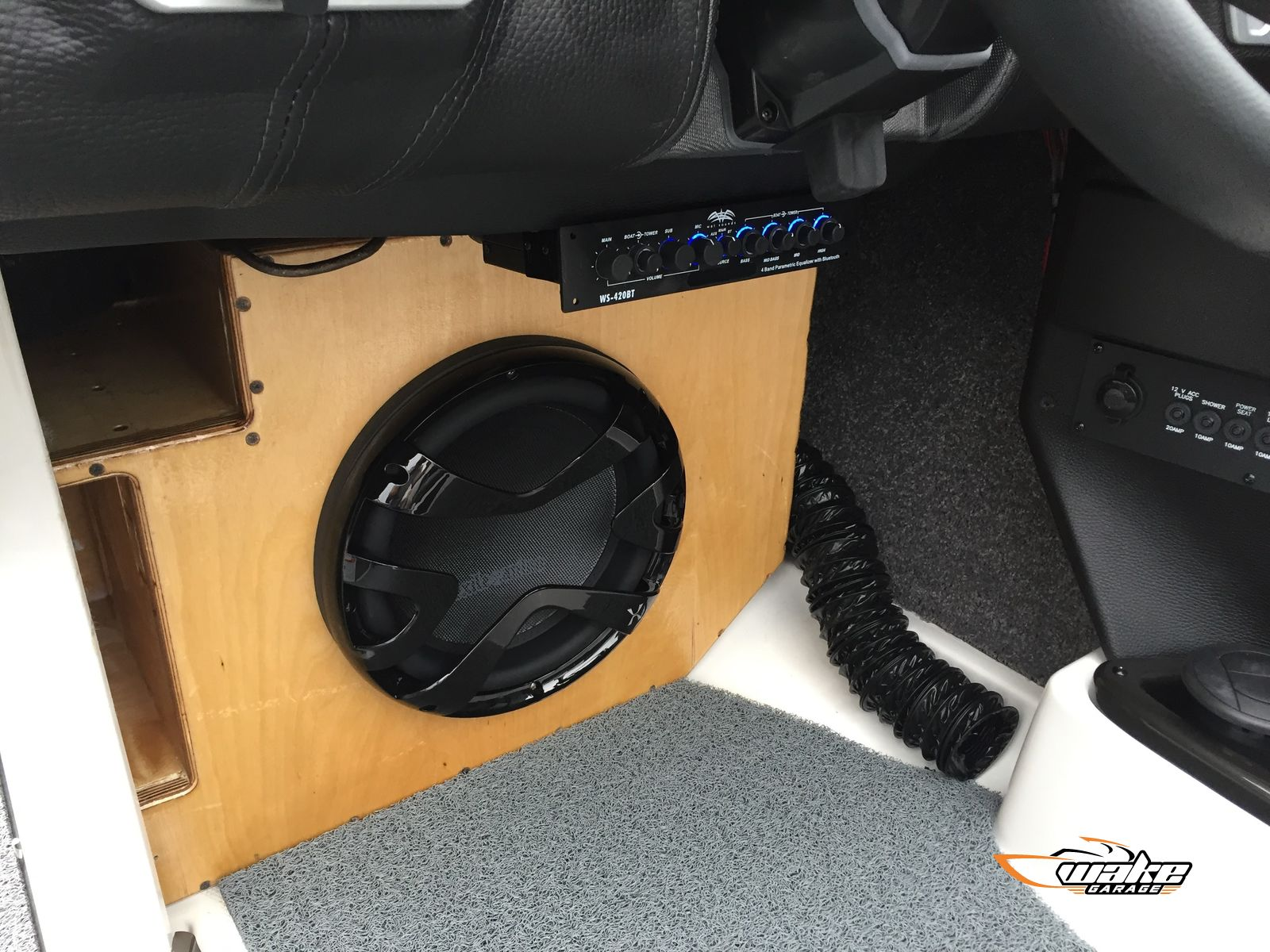 Custom Subwoofer Upgrade Project