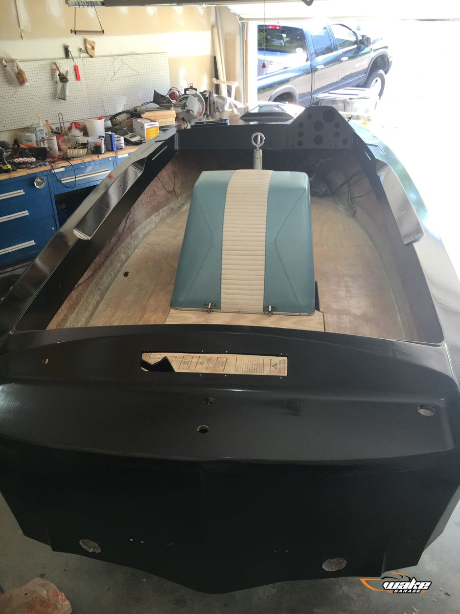 Classic Nautique Stringer Replacement Project