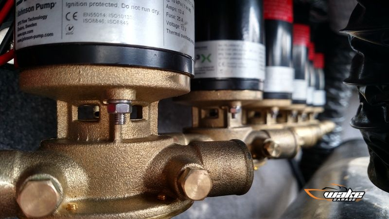 New ballast pump upgrades