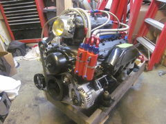 Upgraded performance engine for Malibu