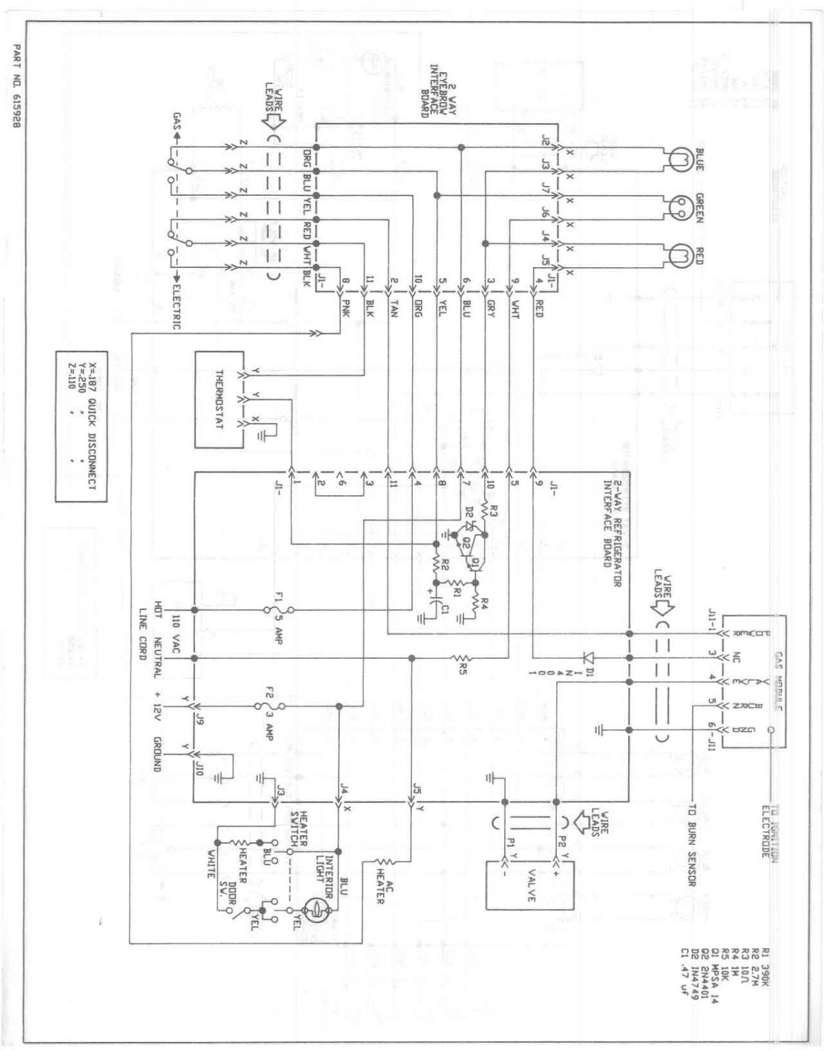 Installing circuit board for Norcold 838EG2? - Technical Tips and Tricks -  Escapees Discussion ForumEscapees Discussion Forum