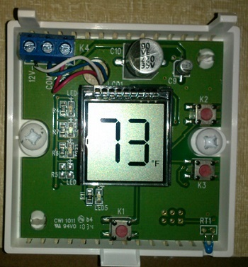 Help With Wiring New Thermostat Technical Tips And Tricks Escapees Discussion Forum