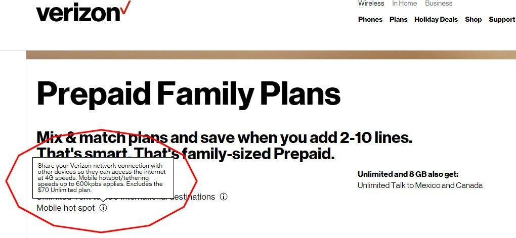 Verizon Unlimited Data Plan for Jetpacks - Page 3 - Internet