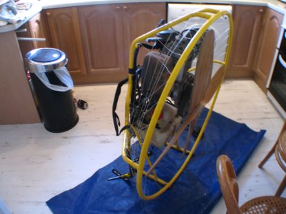 Just acquired an old Solo 210 - a few questions - Paramotors  - www