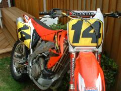 MY MX RACE BIKE. WHICH I WON RACES WITH.