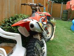 HONDA CRF 450. FROM DIFFERENT ANGLE