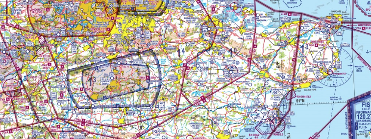 UK Airspace classes and what they look like on a chart - General ...
