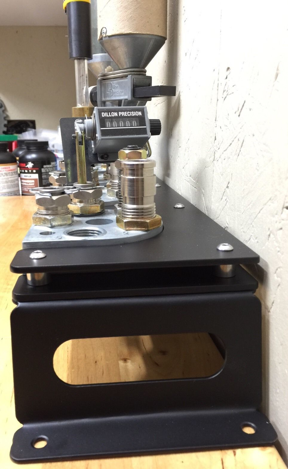Dillon XL650 Toolhead Storage Project - Dillon Precision