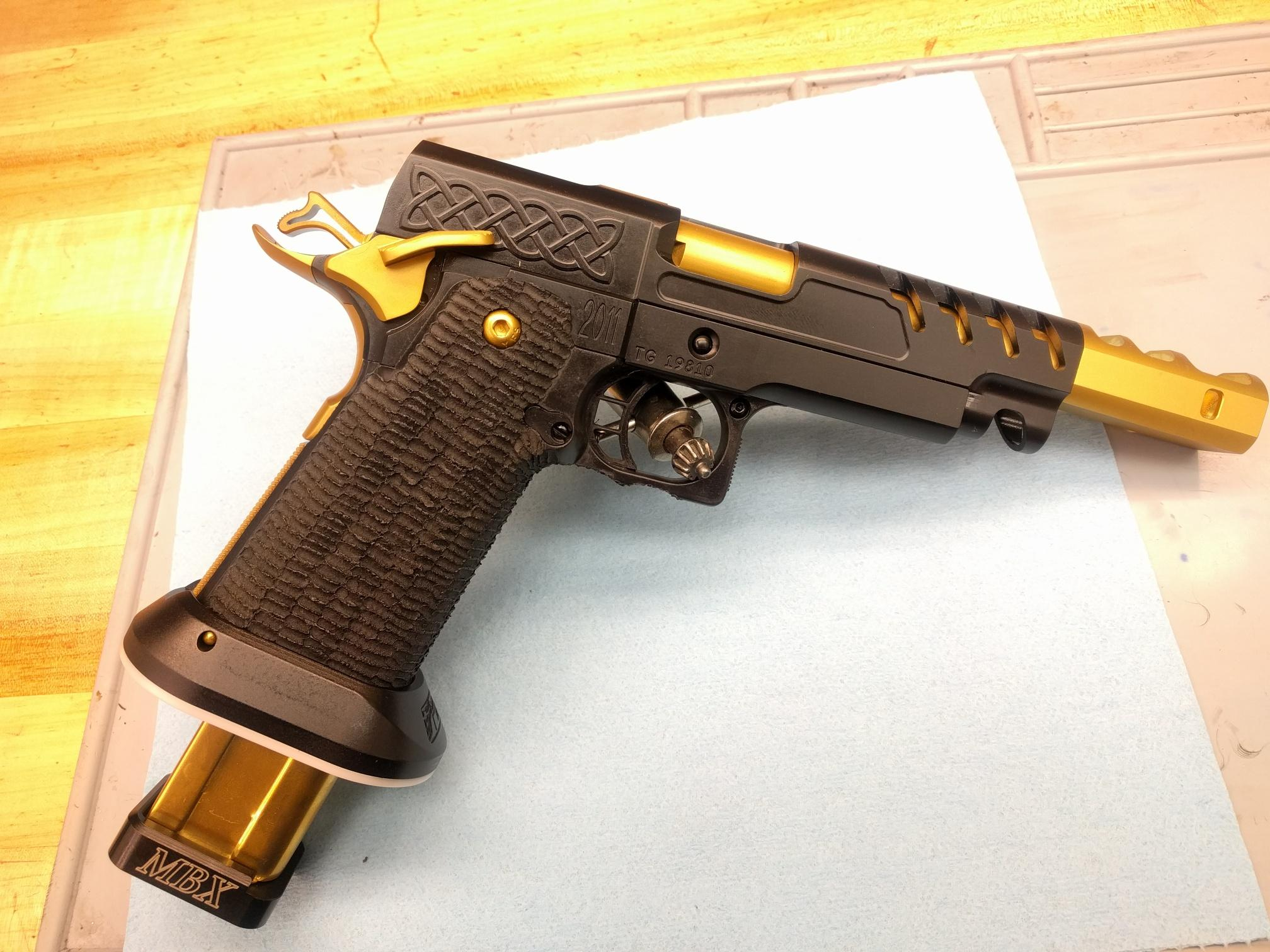 open gun with cracked slide open pistols brian enos s forums