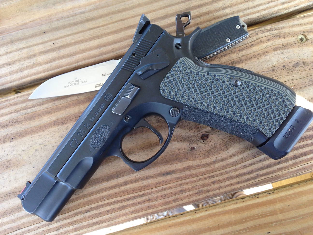 CZ Shadow 1 or 2 - Install of Single Action Trigger - Handgun