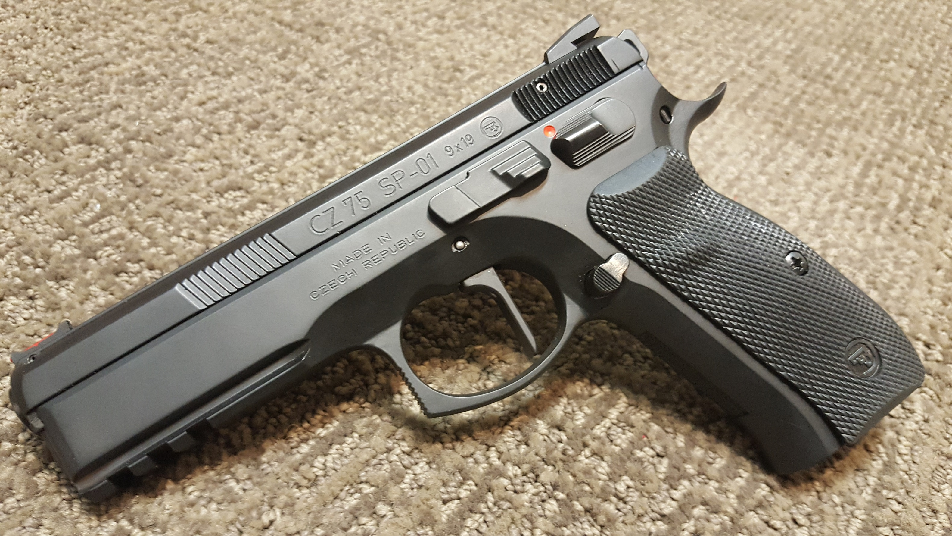 Converting a SP-01 to SAO, new 3 gun pistol - CZ - Brian