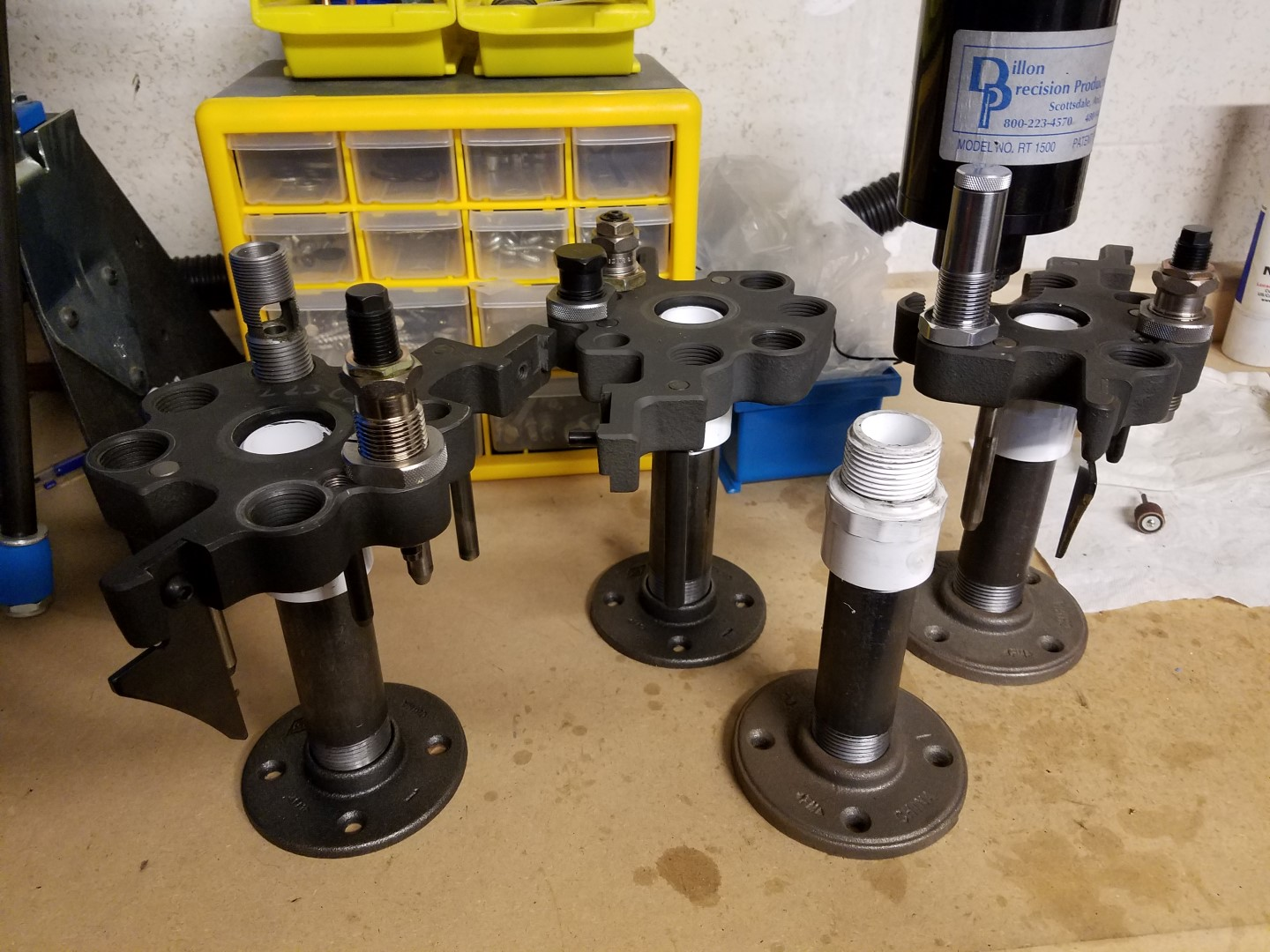 $10 DIY Toolhead stand for 1050 - Dillon Precision Reloading
