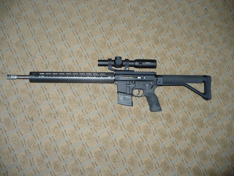 Side charge or rear charge - Pistol Caliber Carbine - Brian Enos's