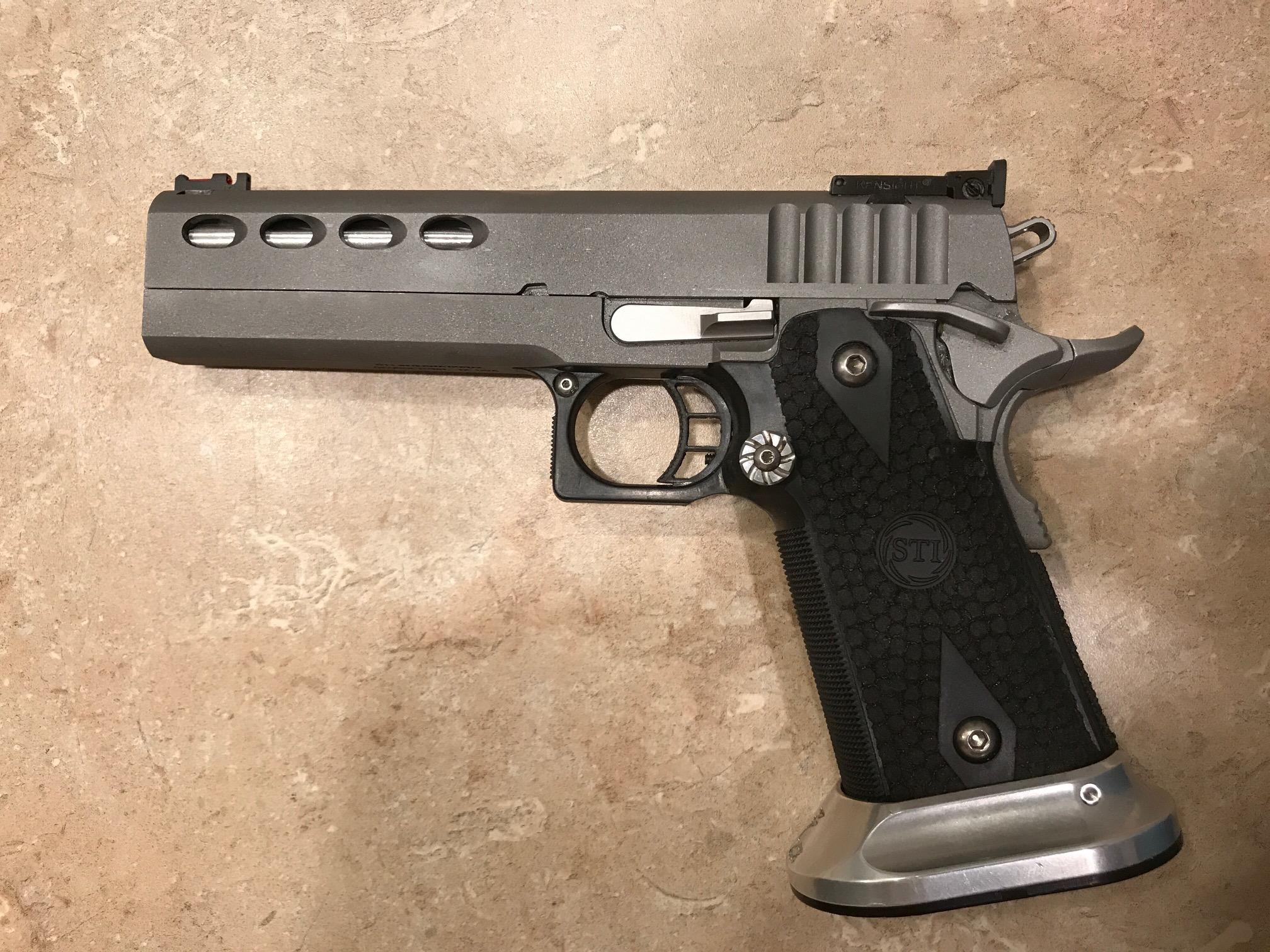2011 Build Parts List - 1911-style Pistols - Brian Enos's