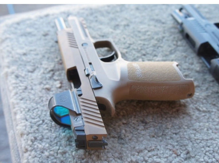 Sig has a new pistol red dot - Sig - Brian Enos's Forums