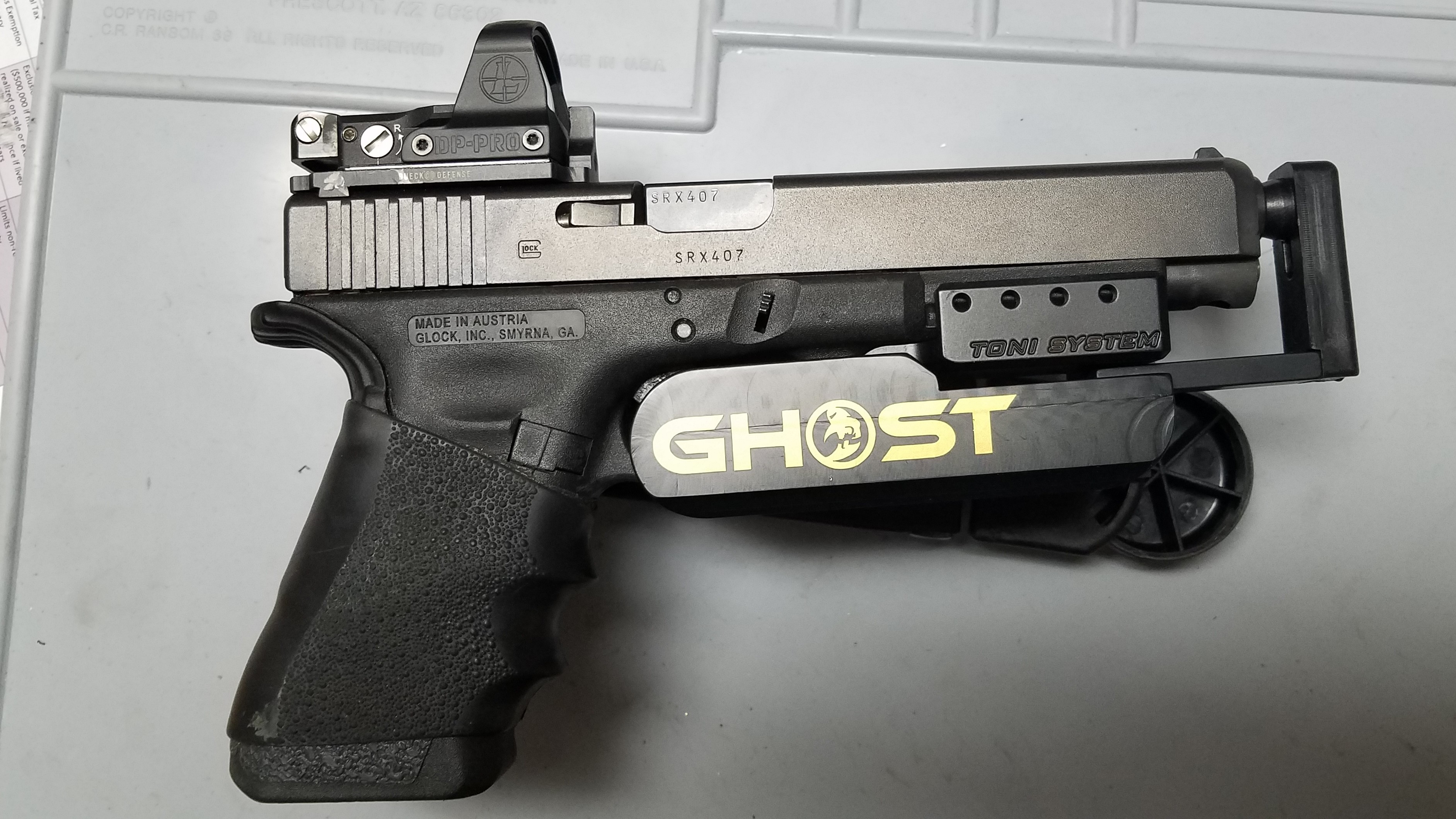 speed holser for glocks with frame weight-thumb rest ? - Page 2 ...