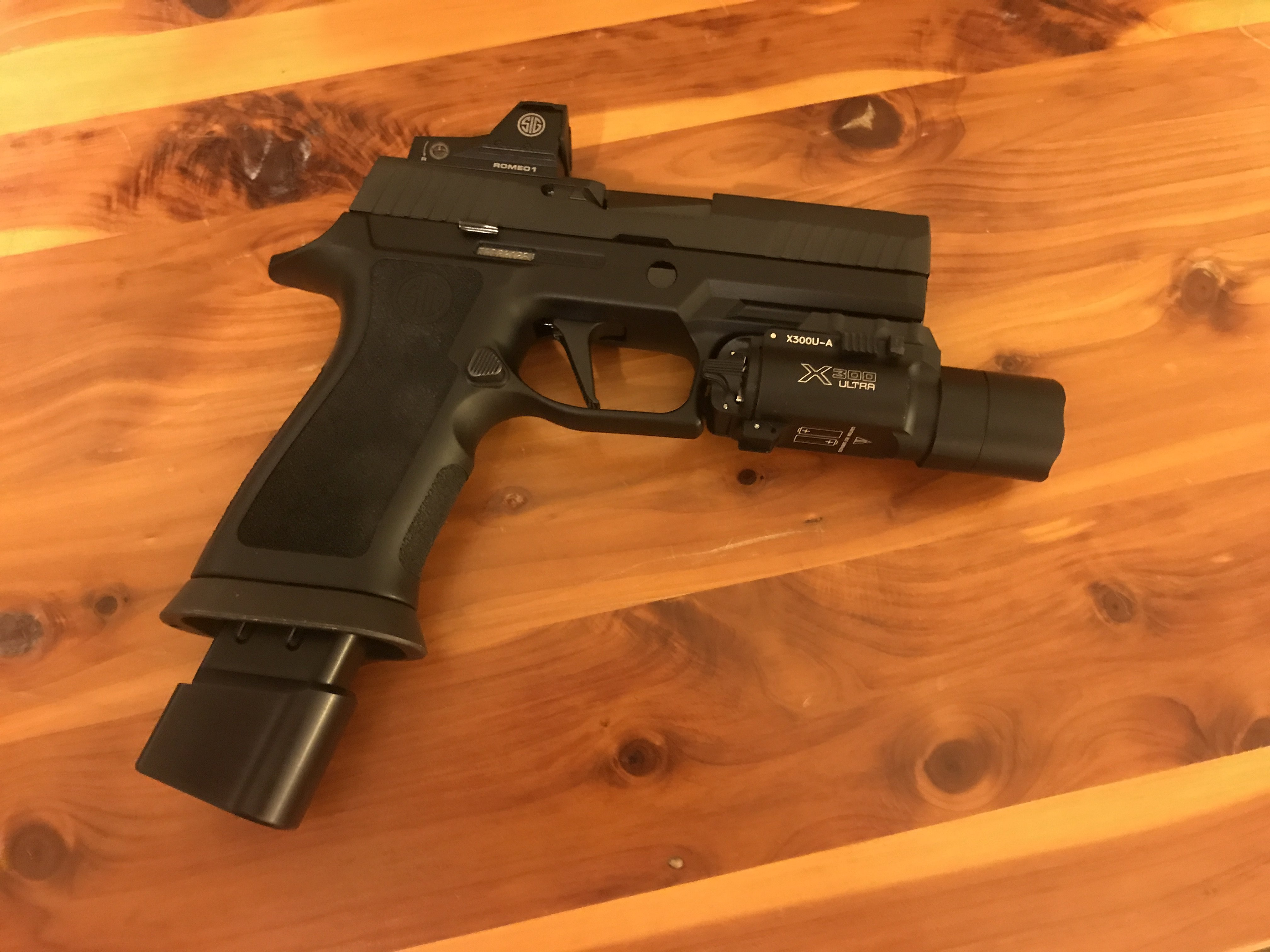 P320 Compact low-profile magwell for concealed carry? - AR15 COM