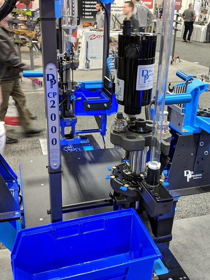 CP2000 and RL1100 - Dillon Precision Reloading Equipment