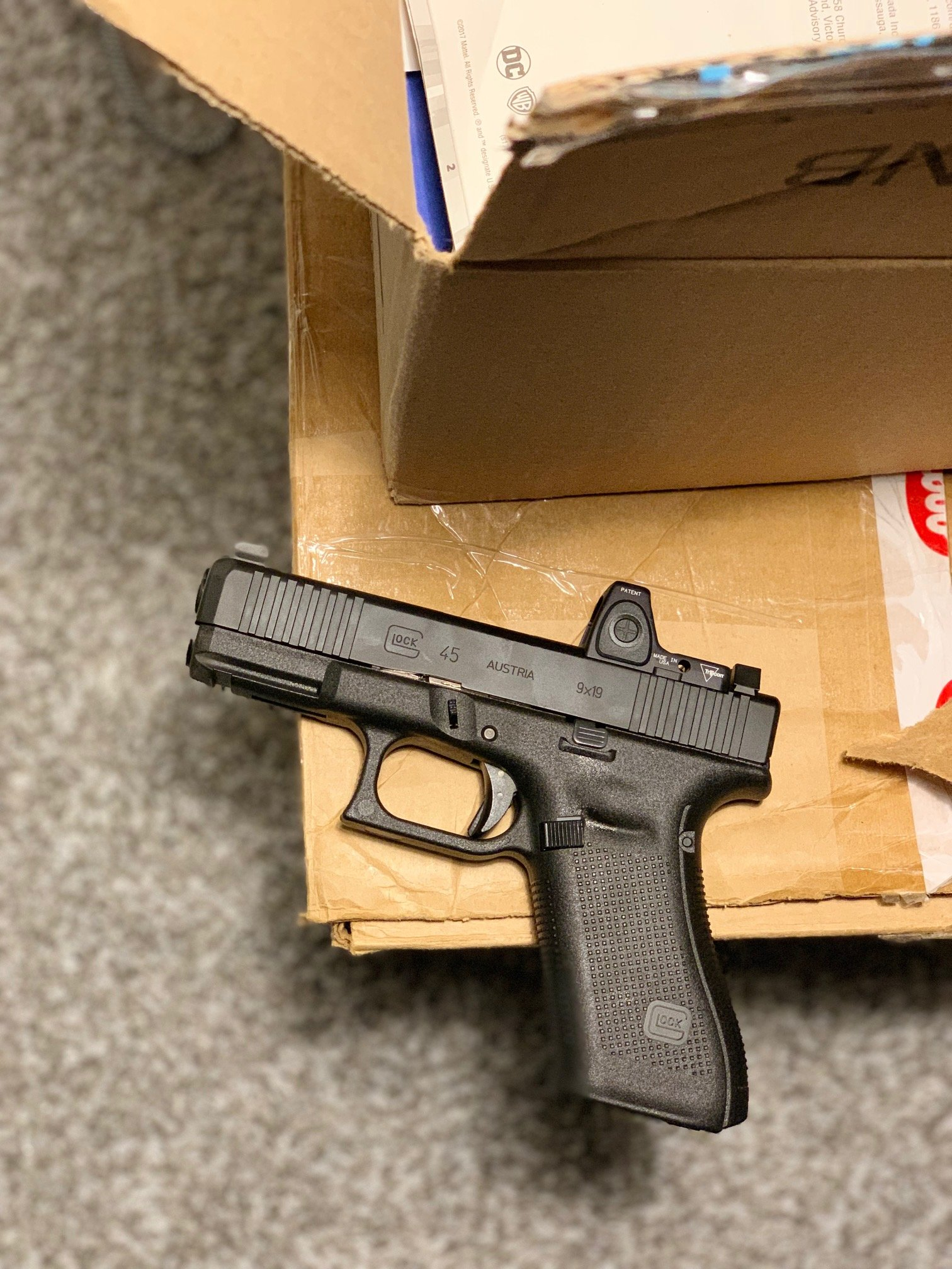 Glock 45 Carry Optics - Glock - Brian Enos's Forums    Maku