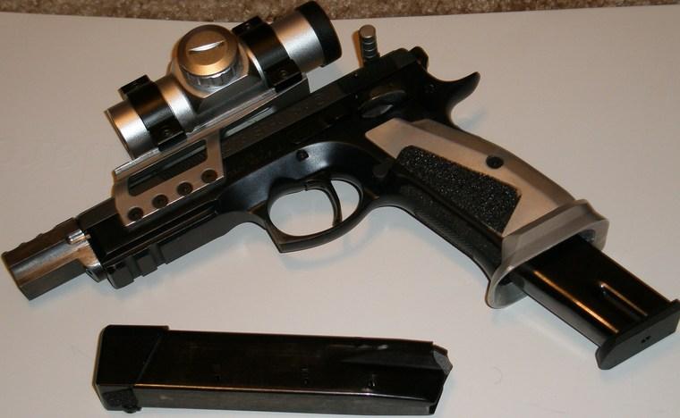 CZ 75-B 9mm For an open gun - Open Pistols - Brian Enos's