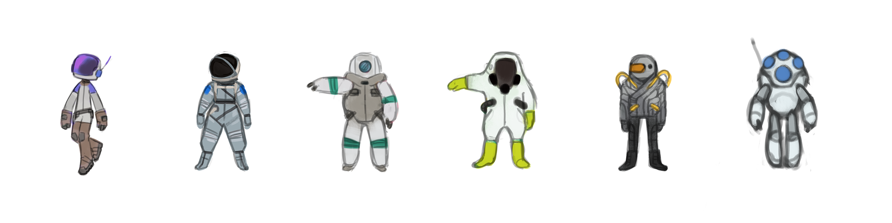 Planet-Specific Suits - Suggestions and Ideas - System Era