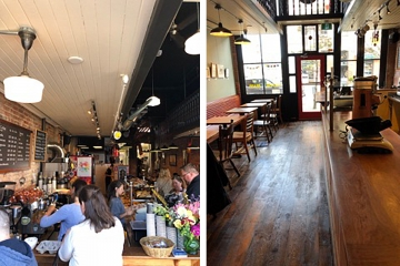 Before and after at Bean Around the World