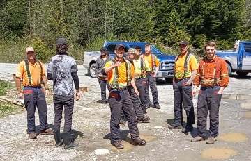 Anti-Indigenous violence at Walbran Camp by forestry workers