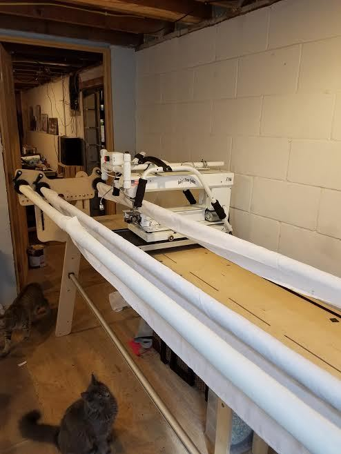 For Sale Bailey's Home Quilter 17E & Grace original GMQ frame ... : bailey quilting machine for sale - Adamdwight.com