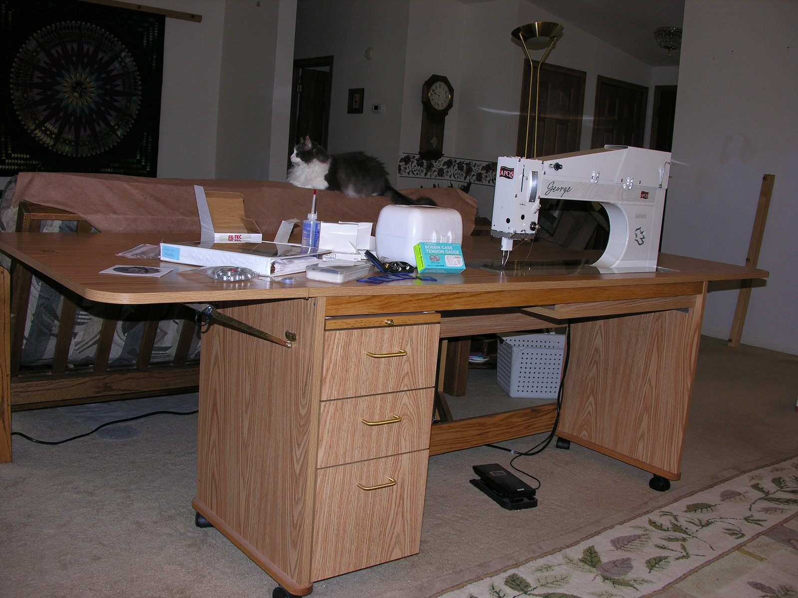 George for sale - George Quilting Machine - APQS Forums : george quilting machine - Adamdwight.com