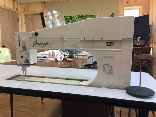SOLD - 2013 APQS George for sale in Michigan - For Sale - Used ... : apqs quilting machine for sale - Adamdwight.com