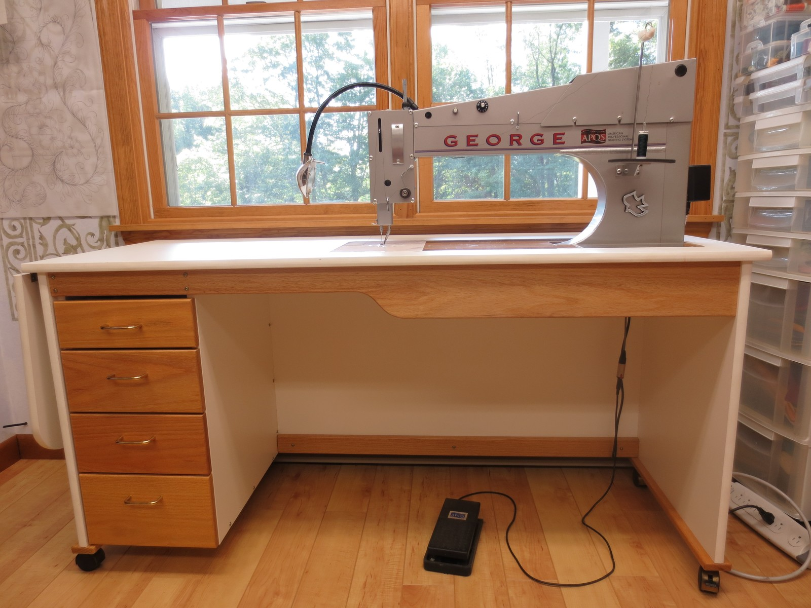 George Quilting Machine For Sale - For Sale - Used Quilting ... : quilting machines for sale - Adamdwight.com