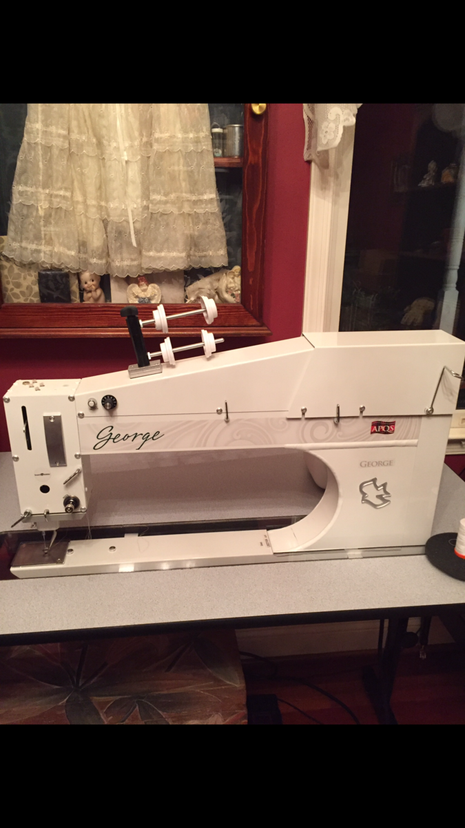 George quilting machine and table for sale - For Sale - Used ... : george quilting machine - Adamdwight.com