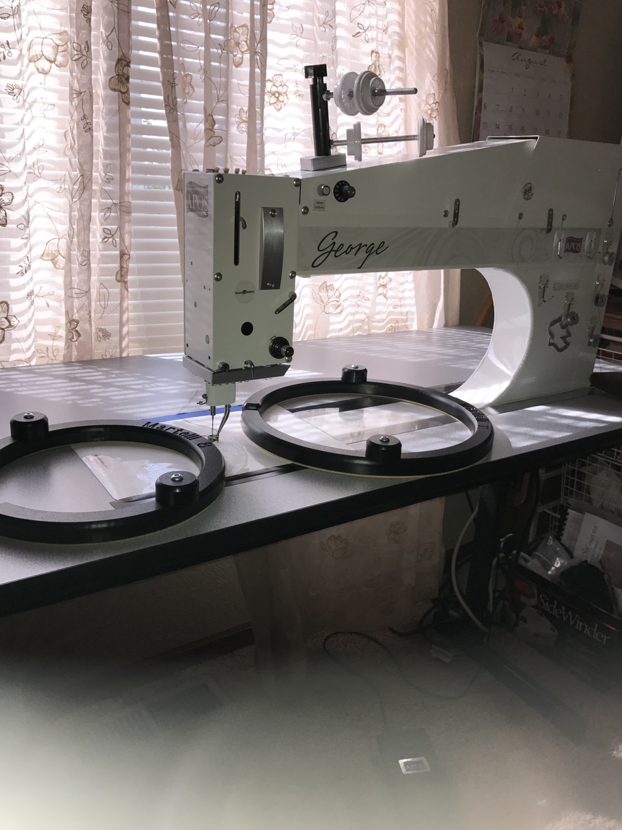 George for Sale - For Sale - Used Quilting Machines - APQS Forums : george quilting machine - Adamdwight.com