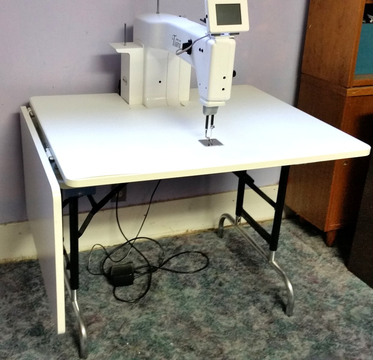 Babylock Tiara 16 Sit Down Quilting Machine For Sale Used