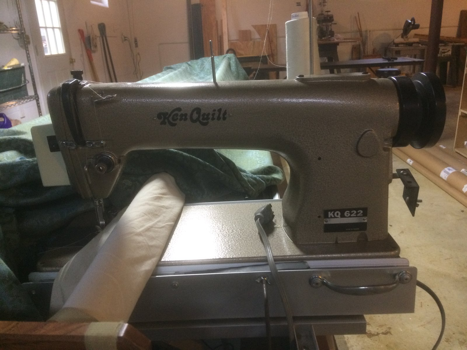 Ken Quilt Long Arm Quilting Machine And Table For Sale Used